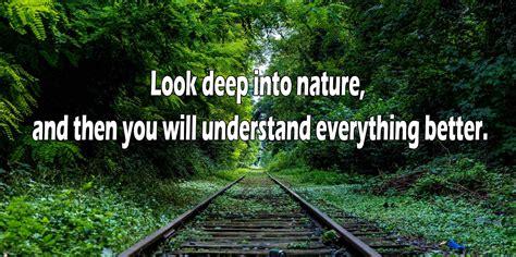 Albert Einstein Quotes  Look Deep Into Nature Girls