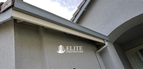 F28 Fascia 2x8 And The Base Of The Garage Door Jambs Dry