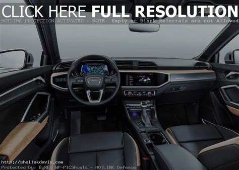 2020 Audi Q3 Interior by 2020 Audi Q3 Interior Changes With New Features Auto Suv