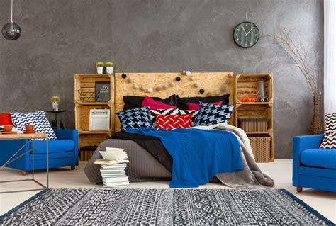 tapis chambre bleu tapis ethnique pour chambre bleu doux spectre