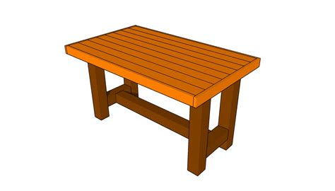 woodworking plan plans   wood picnic table