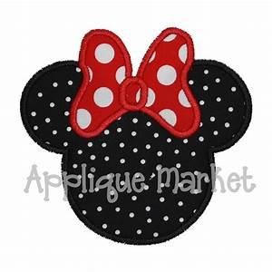 Minnie Mouse Applique Design Joy Studio Design Gallery