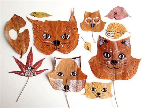 Diy Leaf Animals  Handmade Charlotte