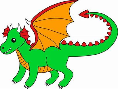 Dragon Wings Clip Clipart Dragons Orange Knights