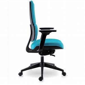 Chaise Pour Bureau : chaise de bureau en tissu avec roulettes wi max 4 ~ Teatrodelosmanantiales.com Idées de Décoration