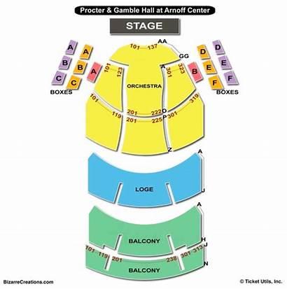 Seating Aronoff Chart Center Arts Charts