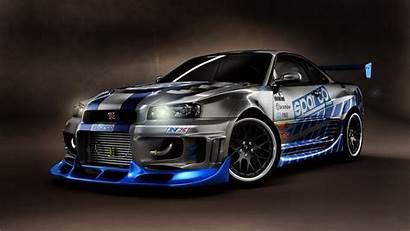R34 Skyline Nissan Gtr Wallpapers Fast Furious