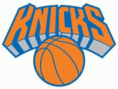 Knicks York Nba Logos Clipart Alternate Basketball