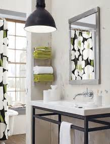 bathroom towel bar ideas cool bathroom storage ideas