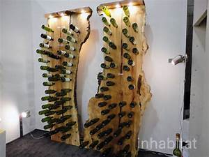 Fallen Tree Wine Rack Holds a Wine Collection of Epic