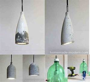 Sleek DIY Concrete Pendant Lamp for $10 - Do-It-Yourself