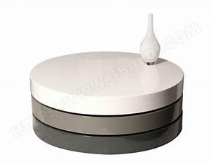 Table Basse Pas Cher : table basse ub design table basse ronde ice pas cher ~ Teatrodelosmanantiales.com Idées de Décoration