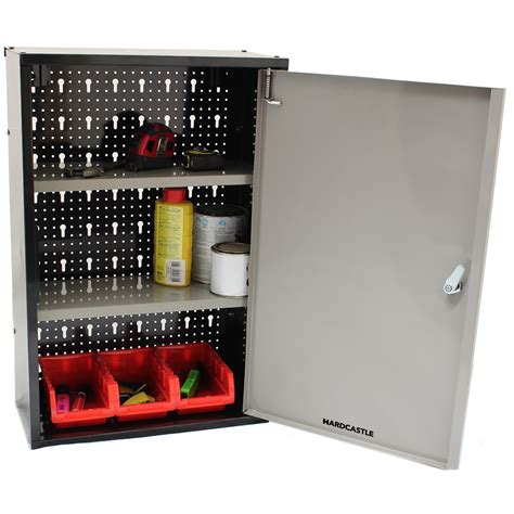 Lockable Storage Cabinets by Lockable Metal Garage Shed Storage Cabinet Wall Unit Tool