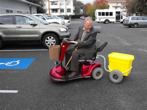 Tow Boat Mobility Scooter by Vehicles For The Disabled By Tony S Trailers