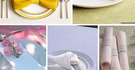 sophies favors blog beautiful napkin folding ideas