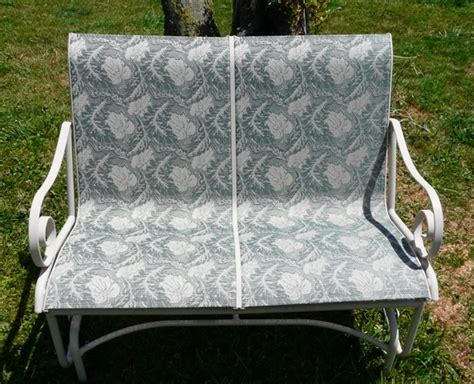 Patio Furniture Upholstery by Patio Sling Fabric Replacement Fl 036 Amelia Leisuretex