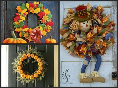 thanksgiving wreaths ideas beautiful thanksgiving wreaths for your front door