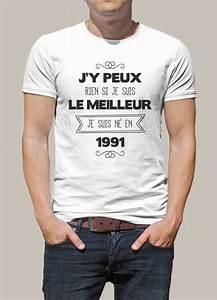 Cadeau Homme 18 Ans : tee shirt original pour des 25 ans r ussi une id e de ~ Melissatoandfro.com Idées de Décoration