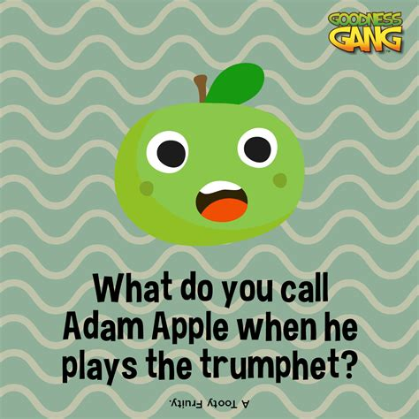 adam apple food jokes  kidsx food