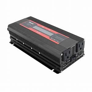 Hot 6000w Car Solar Power Inverters 12v Dc To 110v  220v Ac