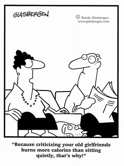 Cartoons Fitness Marriage Glasbergen Funnies Sparkpeople Cartoon