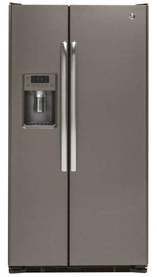 ge  cu ft counter depth side  side refrigerator slate gzsdmjes vans home center