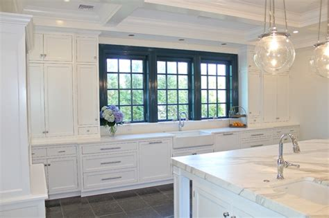 traditional kitchen cabinets navesink river home 2898