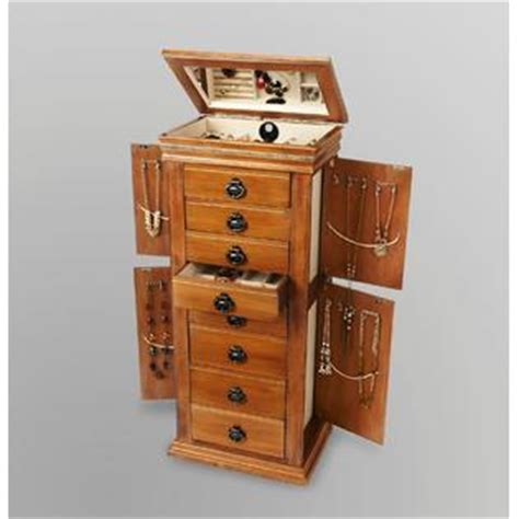Sears Jewelry Armoire by 8 Drawer Jewelry Armoire Stand Precious At Sears
