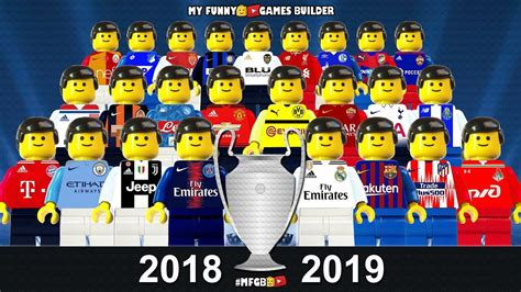 preview champions league  group stage draw lego