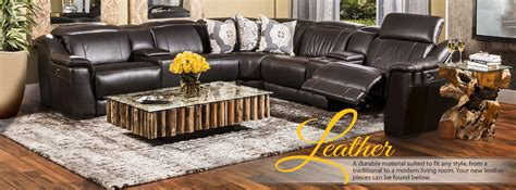 El Dorado Furniture Living Room Sets by Leather Furniture Leather Sectionals El Dorado Furniture