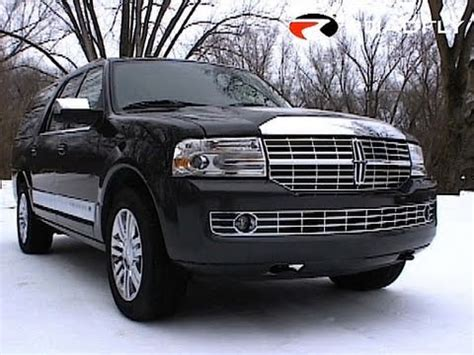automobile air conditioning service 2007 lincoln navigator l lane departure warning roadfly com 2007 lincoln navigator l car review youtube
