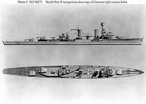 German Navy Ships--Köln (Light Cruiser, 1930-1945)