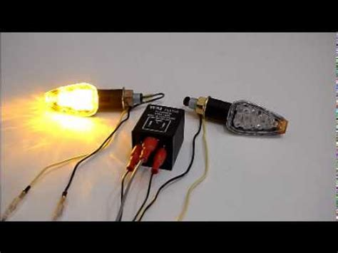 Motorcycle Led Turn Signal Light With Electronic