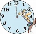 clipart of people setting their clocks - Clipground
