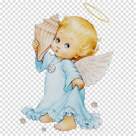 Child Background clipart Angel Drawing Doll