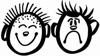 Children Sad Happy Face Decals Sticker Vinyl