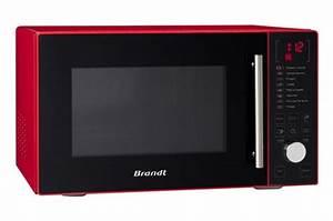 Micro Onde Spoutnik : micro onde brandt rouge nous quipons la maison avec des machines ~ Preciouscoupons.com Idées de Décoration