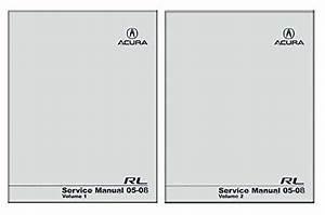 Bishko Automotive Literature 2005 2006 2007 2008 Acura Rl