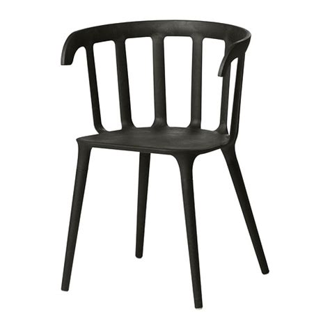 ikea ps 2012 chair with armrests black ikea
