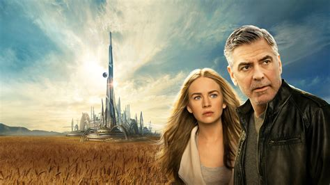 britt robertson george clooney tomorrowland wallpapers