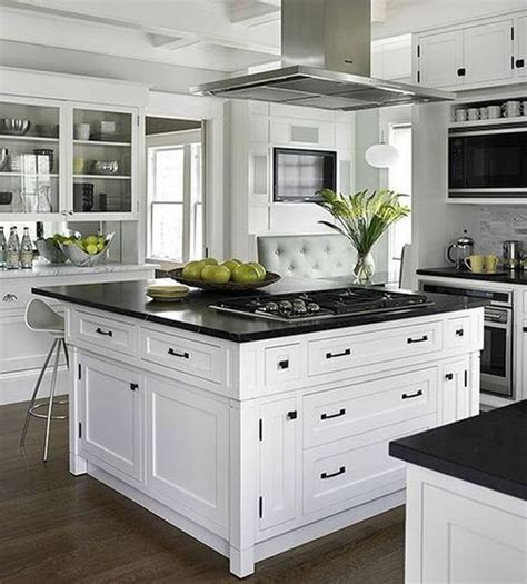 25 trendy contrasting countertops for your kitchen digsdigs