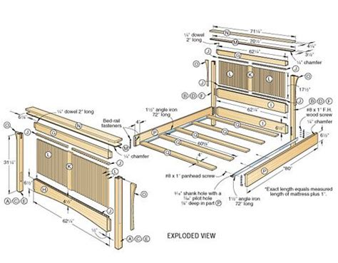 woodworking bed ideas  pinterest wood joining