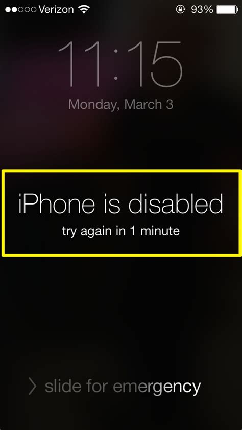 how to disable an iphone iphone iphone is disabled