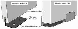 agave ironworks rh901 rolling track barn door bottom With barn door installation guide
