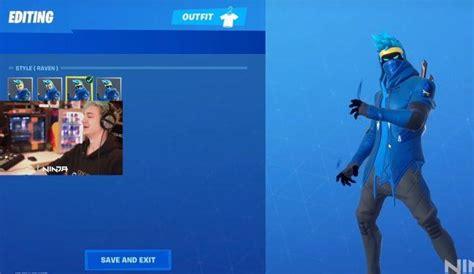 fortnite    official ninja skin playerone