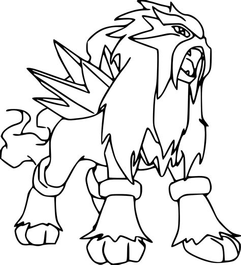 dessins de coloriage pokemon  imprimer