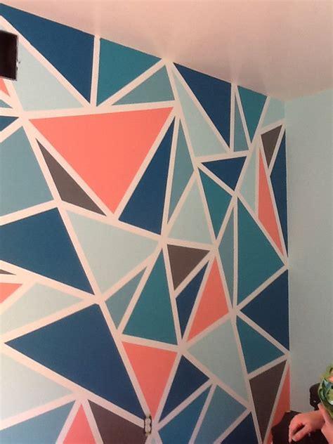 tape crazy wall diy musts   room decor diy wall