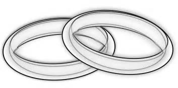 wedding rings clipart free silver wedding rings clip