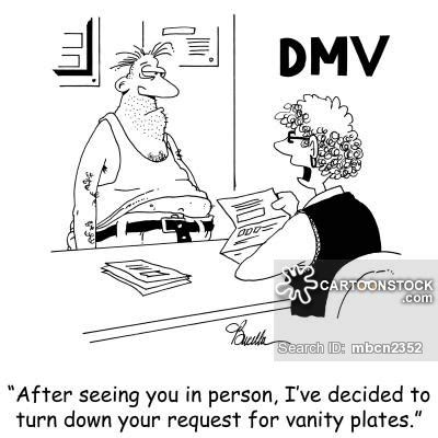 Dmv Cartoons and Comics - funny pictures from CartoonStock