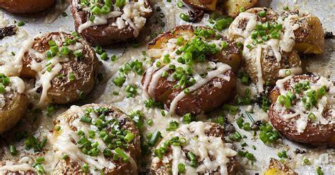 barefoot contessa parmesan chive smashed potatoes recipes